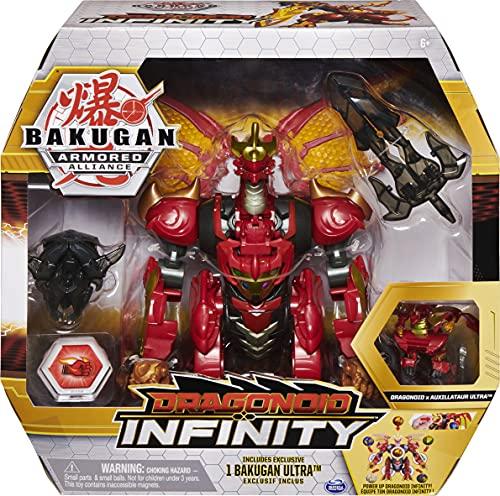 Bakugan Armored Alliance Dragonoid Infinity, überdimensionale Sammelfigur exklusivem Dragonoid x...