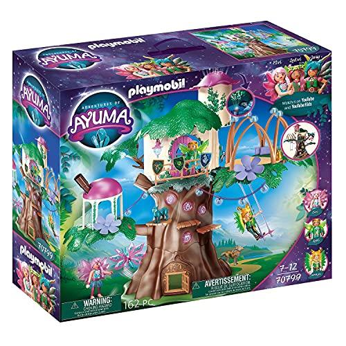 PLAYMOBIL Adventures of Ayuma 70799 Gemeinschaftsbaum, Mit Lichteffekt, Ab 7 Jahren