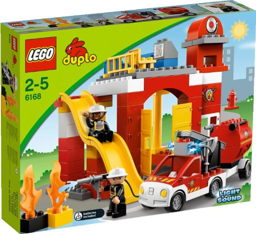 Lego DUPLO 6168 Feuerwehr-Hauptquartier