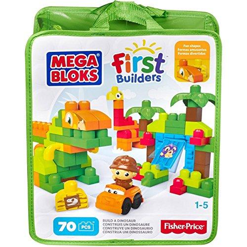Mega Bloks Dinosaurier-Bau-Set, 70-teilig
