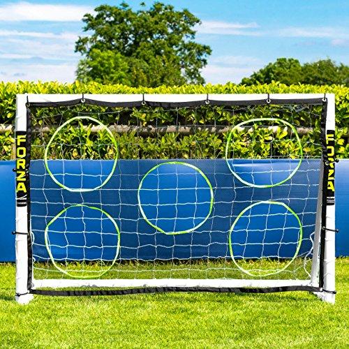 Net World Sports Forza 1,8m x 1,2m Fußballtor – Dieses Tor kann das ganze Jahr über bei jedem Wetter...