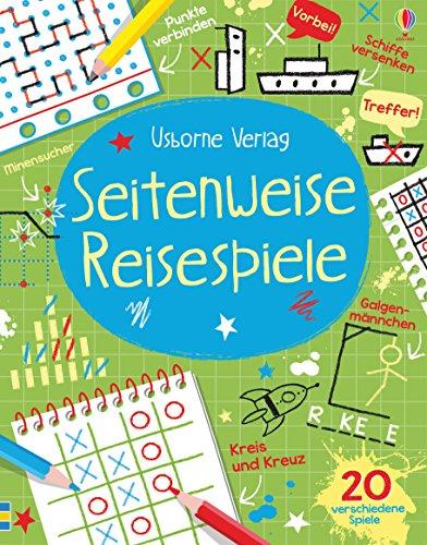 Reisespiel-Block 'Seitenweise Reisespiele' vom dtv Verlag