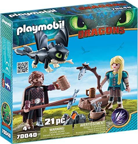 Playmobil 70040 - Hicks und Astrid mit Babydrachen