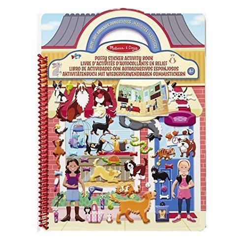 Melissa & Doug Aktivitätenbuch mit wiederverwendbaren Gummistickern - Die Welt der Haustiere (115...