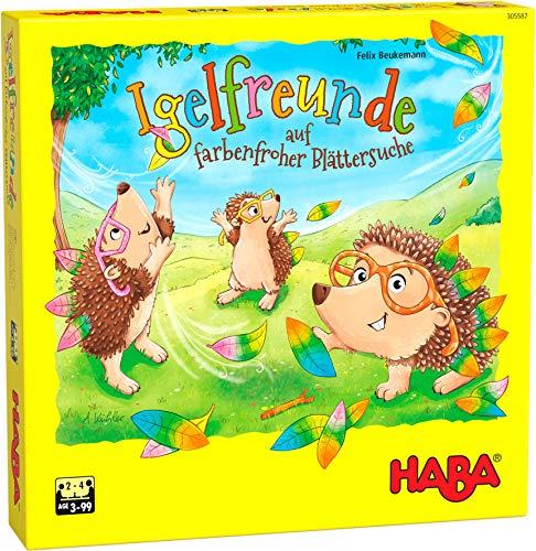 HABA 305587 - Igelfreunde, Würfelspiel für 2-4 Spieler ab 3 Jahren, umfangreiches Spielmaterial mit...