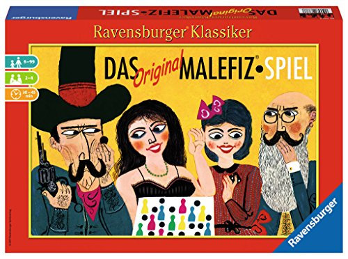 Ravensburger Spiele 26737 - Das Original Malefiz®-Spiel