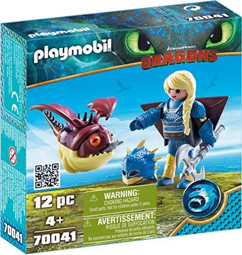 Playmobil 70041 - Astrid mit Fluganzug und Nimmersatt
