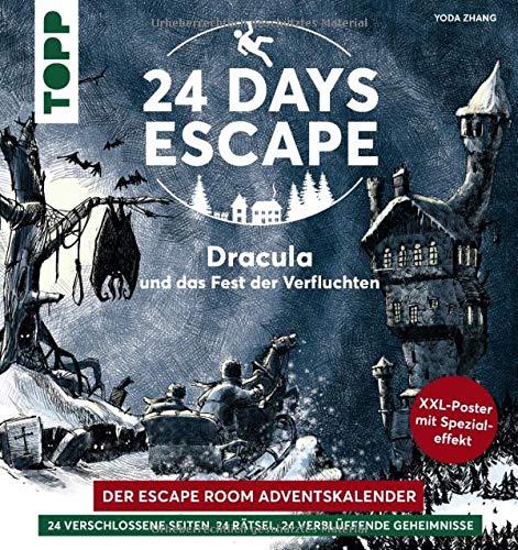 24 DAYS ESCAPE – Der Escape Room Adventskalender: Dracula und das Fest der Verfluchten: 24...