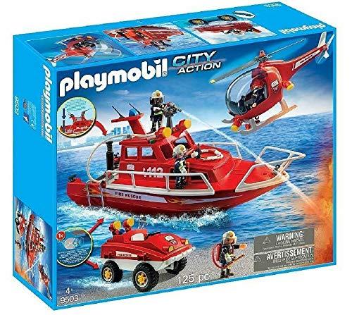 PLAYMOBIL Feuerwehrmann 9503