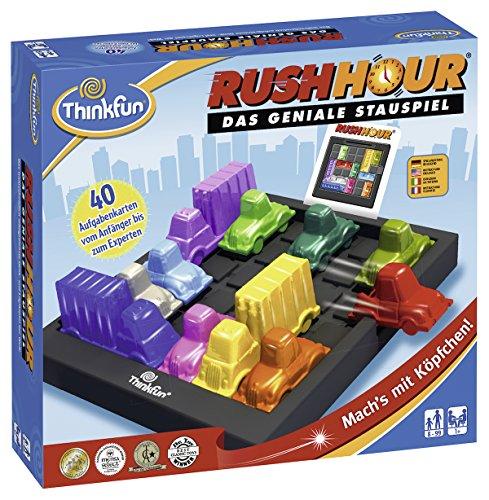 ThinkFun 76301 - Rush Hour - Das geniale Stauspiel