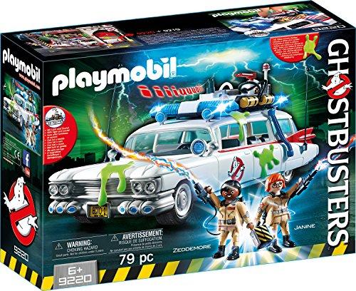 Playmobil Ghostbusters 9220 Ecto-1 mit Licht- und Soundeffekten, Ab 6 Jahren [Exklusiv bei Amazon]