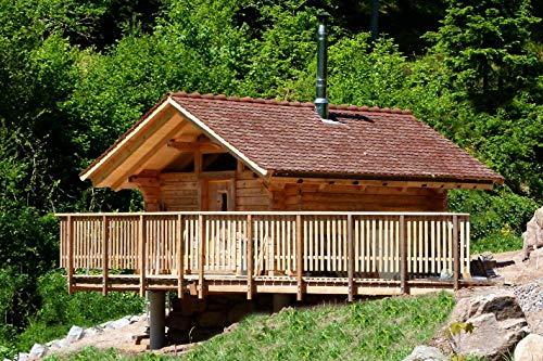 Jochen Schweizer Geschenkgutschein: Romantik-Urlaub in der Blockhütte im Schwarzwald für 2