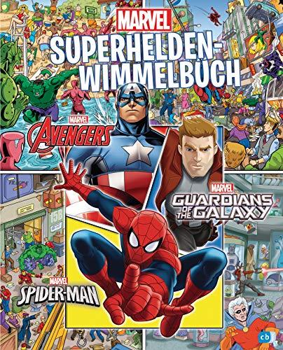 MARVEL – Superhelden-Wimmelbuch: Lustiger Such- und Wimmelspaß mit den beliebten Marvel-Helden (Die...