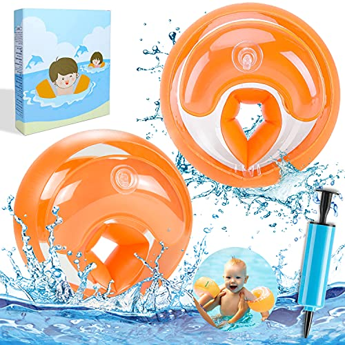 ECtury Schwimmflügel Kinder, Schwimmhilfe für Anfänger, Schwimmring für 1-4 Jahre Jungen Mädchen...