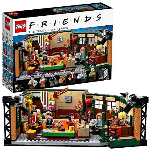 LEGO 21319 Ideas FRIENDS 'Central Perk' Café für Erwachsene und Fans der Kultserie,...