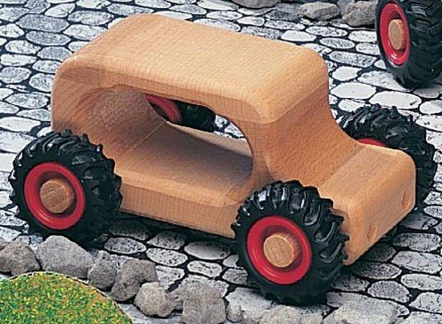 Fagus Knubbelauto Oldie Holzfahrzeug | Modell: 11.03 (ab 2 Jahren)