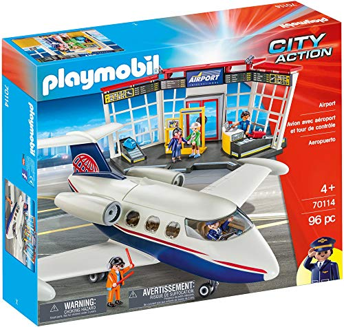 Playmobil 70114 Flughafen 96PC City Action UK