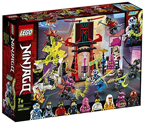 Lego 71708 NINJAGO Marktplatz, Minifiguren-Set mit Digi Jay, Avatar Pink Zane und Avatar Harumi (inkl. 9...