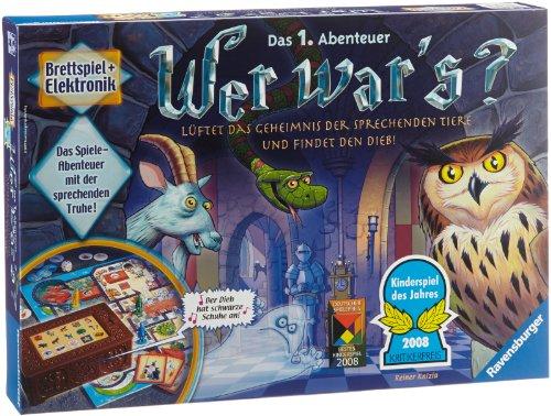Ravensburger Kinderspiel Wer war's, Gesellschafts- und Familienspiel, für Kinder und Erwachsene,...