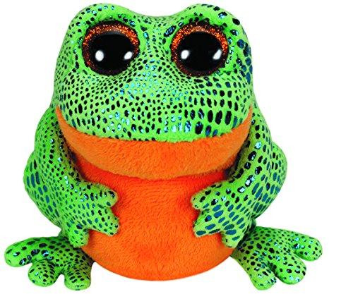 TY 36123 - Speckles Frosch mit Glitzeraugen, glitzerndem Rücken und Beinen, Glubschi's, Beanie Boo's, 15...