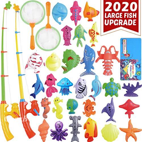 CozyBomB Angeln Spielzeug, Badespielzeug, Magnetisches Angeln Spielzeug vov wasserdichtes schwebendes...