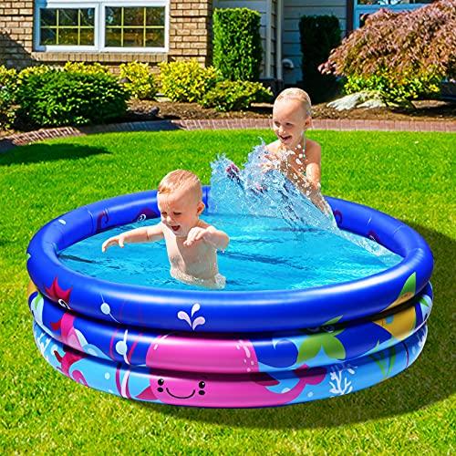 Joyjoz Familie Pool, Kinderpool für Schwimmen Spielen Schlafen, Kinder Aufstellpool Planschbecken...