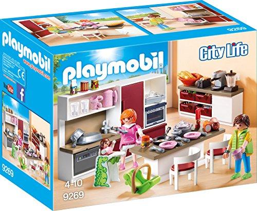 Playmobil City Life 9269 Große Familienküche, Ab 4 Jahren
