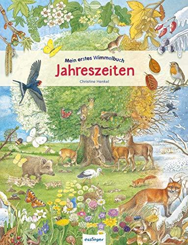 Mein erstes Wimmelbuch: Jahreszeiten: Wuselige interaktive Bücher