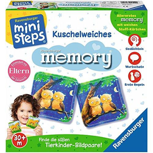 Ravensburger 4512 My Little Pony ministeps Kuschelweiches Memory Spiel