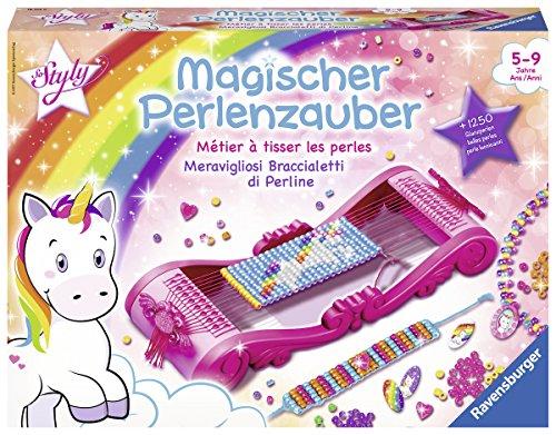 Ravensburger Magischer Perlenzauber, Perlenarmbänder selber machen, Kreatives Bastelset für Mädchen ab...