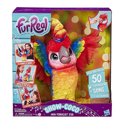FurReal Friends – Show-Coco, Mein Papagei-Star – Plüsch Interactive – E0388