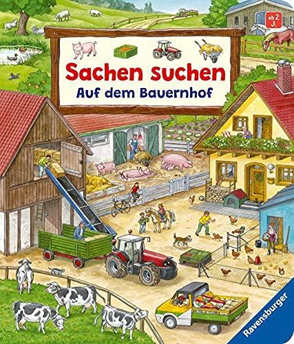 Sachen suchen: Auf dem Bauernhof - Wimmelbuch