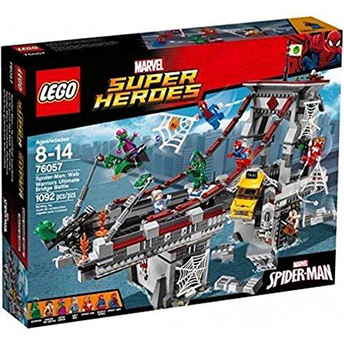 Superhelden-Bauset 'Spider-Man: Ultimatives Brückenduell der Web-Warriors' von LEGO Marvel Super Heroes