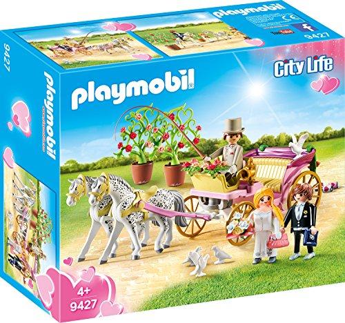 PLAYMOBIL City Life 9427 Hochzeitskutsche, ab 4 Jahren