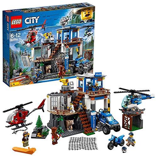 LEGO 60174 City Police Hauptquartier der Bergpolizei (Vom Hersteller nicht mehr verkauft)