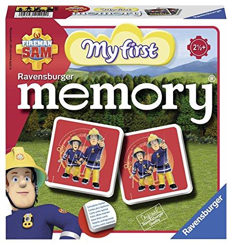 Ravensburger 21204 - Mein erstes memory Fireman Sam, der Spieleklassiker für die Kleinen, Kinderspiel...