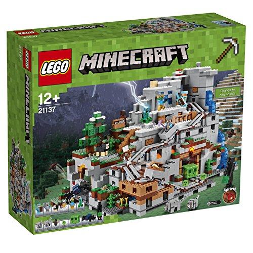 Lego Minecraft 21137 Die Berghöhle Konstruktionsspielzeug