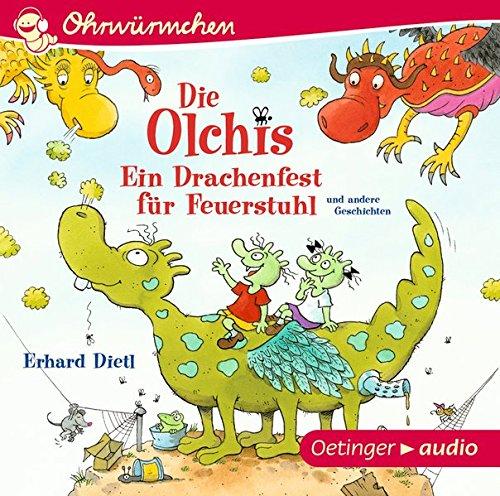 Ein Drachenfest für Feuerstuhl und andere Geschichten: OHRWÜRMCHEN-Hörbuch