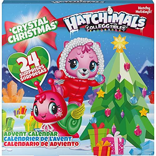 Hatchimals CollEGGtibles Crystal Christmas - Adventskalender mit 15 exklusiven Sammelfiguren und mehr als...