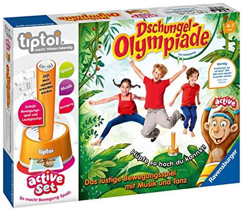 """Ravensburger tiptoi 00849 - active Set """"Dschungel-Olympiade"""" / Spiel von Ravensburger ab 4 Jahren /..."""