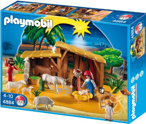 Playmobil - Große Krippe mit Stall
