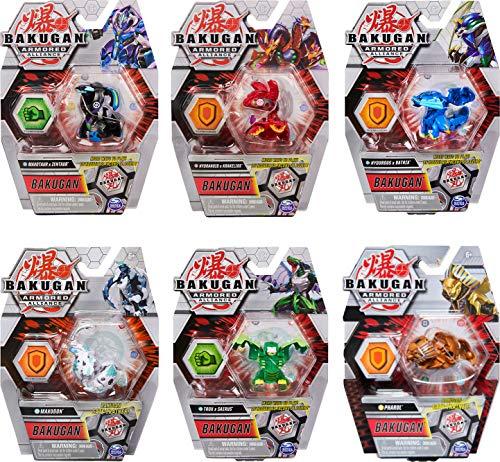 Bakugan Armored Alliance Basic Ball 1er Pack inkl. Fusions-Charakteren, unterschiedliche Varianten