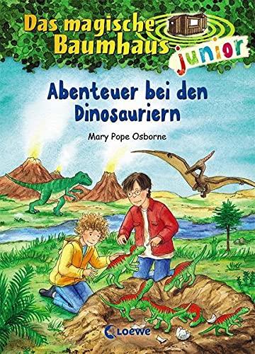 Das magische Baumhaus junior (Band 1) - Abenteuer bei den Dinosauriern: Kinderbuch zum Vorlesen und...
