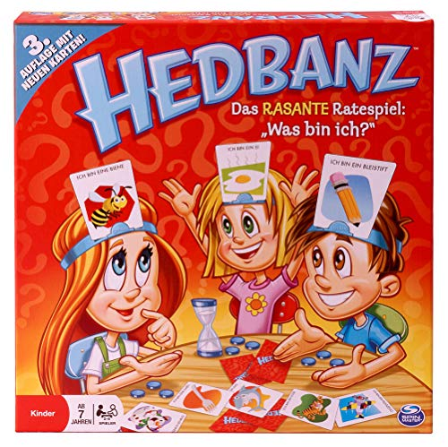 Spin Master Games - Hedbanz (3. Edition)