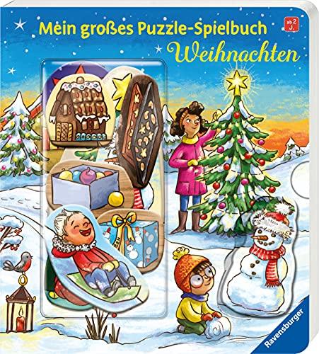 Mein großes Puzzle-Spielbuch: Weihnachten