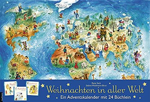 Bücher-Adventskalender 'Weihnachten in aller Welt' von Rena Sack
