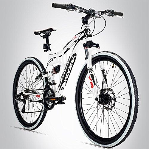 Bergsteiger Kodiak 26 Zoll Mountainbike, geeignet ab 160 cm, Scheibenbremse, Shimano 21 Gang-Schaltung,...