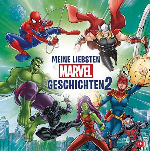 Meine liebsten Marvel-Geschichten 2: Perfekt für Zwischendurch: kurze Vorlesegeschichten für Kinder ab...