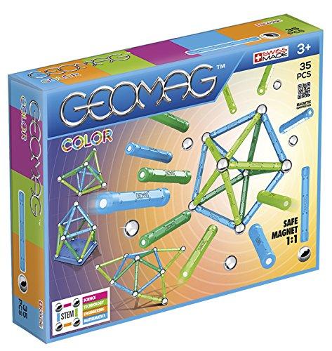 Geomag, Classic Color, 261, Magnetkonstruktionen und Lernspiele, 35-teilig