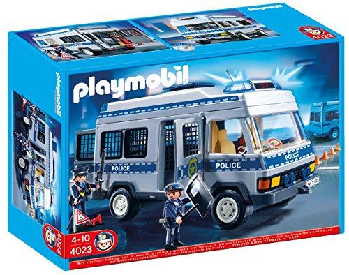 Playmobil 4023 - Police Transport Vehicle, Modellnutzfahrzeuge